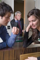 Boss Listening to Employees