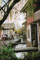 Old building of Lijiang city, Yunnan Province of People´s Republic of China, FOR EDITORIAL USE ONLY