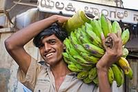 Fruit Seller, Mysore Market, Karnataka, India