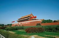 Tiananmen, Gate, Peking, China, Gate, of, Heavenly, Peace