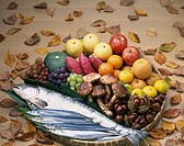 Taste of autumn Japan Food