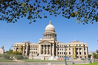 Boise Idaho State Capitol ID US United States architect J  E  Tourtellotte Renaissance Revival design government law legal legislature