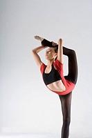 a female eurythmics athlete