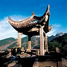 the Mount Huang, Chinese pavilion,Anhui Province,China