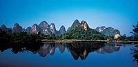 Lijiang River in Guilin,Guangxi