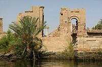 Diocletian gates from the Nile