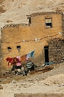 Earthen house of Gurna village