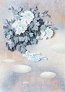 Illustration,Peony Blossom
