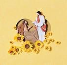 Paper Illustration,Christianity