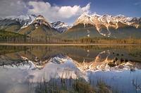 Mt. Vaux and Chancellor Peak, Yoho National Park, British Columbia, Canada