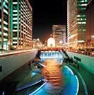 Cheonggyecheon Stream,Seoul,Korea