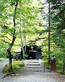 Show commemoration chapel Karuizawa and Nagano Japan