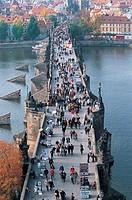 Karluv Bridge,Praha,Czech Republic