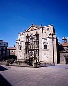 San Martin Pina Rio monastery, Santiago de Compostela, Spain, June