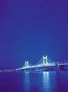 Gwangandaegyo Bridge,Busan,Korea