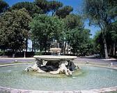 Borghese park, Sea, horse, Rome, Italy