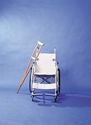 Crutche and Wheelchair
