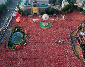 Red Devils,2002 World Cup,Cityhall,Seoul,Korea