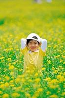 Korean Boy in Rape Field