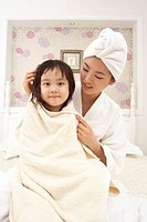 Mother and Daughter, Korean