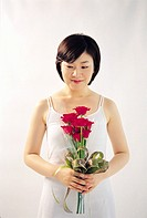 Young Woman with Roses, Korea