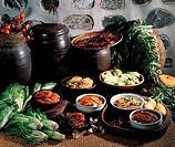 Ingredients Of Kimchi,Korean Food