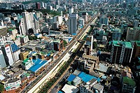 Cheonggyecheon Stream,Jung-gu,Seoul,Korea