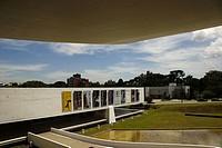 Museu Oscar Niemeyer , Curitiba, Paraná, Brazil.