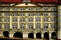 Building, Prague. Czech Republic