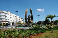 Fountain, Avenue Presidente Kennedy, São Caetano do Sul, São Paulo, Brazil