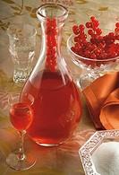 Wine and Spirits: Redcurrant liquor