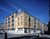 GREAT ORMOND STREET HOSPITAL, GREAT ORMOND STREET, LONDON, WC1 BLOOMSBURY, UK, ANSHEN DYER, EXTERIOR