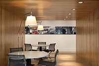 ISG OFFICES, ALDGATE HIGH STREET, LONDON, EC3 FENCHURCH, UK, ORMS, INTERIOR, INFORMAL MEETING SPACE