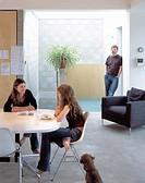 LIVE WORK DEVELOPMENT STAMFORD BROOK, 6 STANFORD BROOK ROAD, LONDON, W6 HAMMERSMITH, UK, POWELL TUCK ASSOCIATES, INTERIOR, KITCHEN