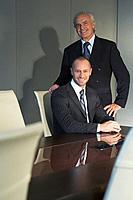 Confident businessmen