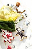 Festive Christmas cookies