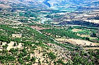 River Valley, Adiyaman province, Taurus Mountains, Anatolia, Turkey