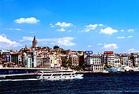 Turkey _ Istanbul _ Beyoglu _ Galata Tower