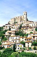 France _ Pyrenees Orientales _ Village d´Eus