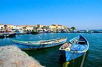 Italy _ Sardinia _ South Region _ San´t Antioco Island _ San´t Antioco Port