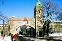 Canada _ Quebec _ Old Quebec _ The Saint_Laurent river