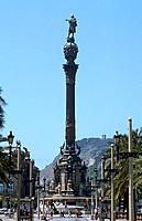 Spain _ Barcelona _ Portal de la Pau _ Mirador de Colomb