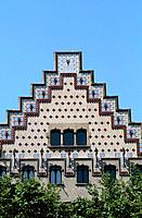 Spain _ Barcelona _ Modernism _ Cadafalch _ L´Eixample _ Casa Amatller