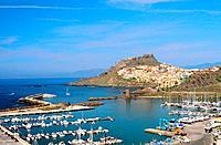 Italy _ Sardinia _ North Region _ Castelsardo and the port