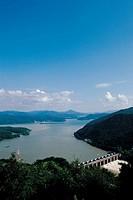 Paldang Dam,Gyeonggi,Korea