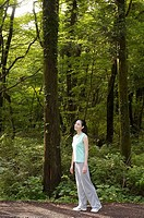 Woman in the Forest,Korea