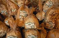 Trahanas and hilopites  Greek Sweets, agricultural - touristic association of Ano Poroia, Lake Kerkini, Macedonia, Greece