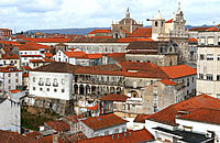Sé Nova (New Cathedral) and University of Coimbra. Beira Litoral, Portugal