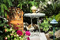 Outdoor Garden Chair and Table