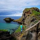 Carrick_a_Rede Rope Bridge, Co Antrim, Ireland